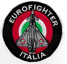 [Patch] EUROFIGHTER ITALIA diametro 8 cm toppa ricamata ricamo REPLICA -481
