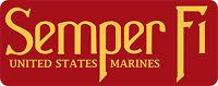UNITED STATES MARINE CORPS (Semper Fi) Vinyl Decal / Sticker ** 5 Sizes **