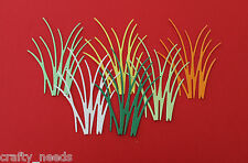 10PC  - GRASS  DIE cuts Scrapbooking Embelishments  ANY COLOR