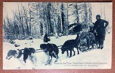 Anique postcard 1910s Missions Pères Oblats dans L'Extrême - Nord Canadien. Dogs