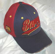 FC Barcelona Hat CAP Spain Throwback SOCCER Football RARE Script FCB OFFICIAL