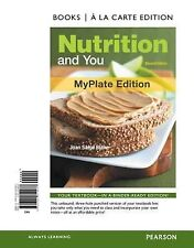 Nutrition and You, MyPlate Edition, Books a la Carte Edition (2nd Edition), Blak