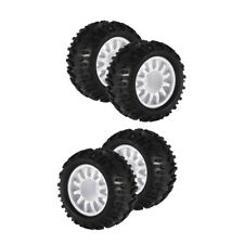 1:16 RC Monster Truck Spare Parts Rubber Tire Tyres 4x for High speed WPL FS
