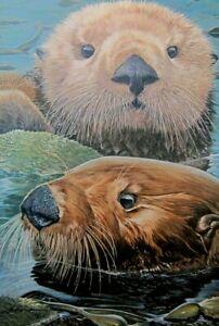 "John Dawson Otter Wise Signed & Numbered  Image Size : 19"" x 13"""