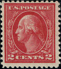 #500 1917 2c DEEP ROSE TYPE Ia PERF 11 ISSUE MINT-OG/NH-2007 PSE CERTIFIED