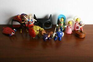 Collectibles -Super Mario, Skylanders, Superhero Girl, Justice League, Spiderman