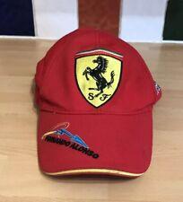 Ferrari FERNANDO ALONSO OFFICIAL BASEBALL CAP - RED - ADJUSTABLE