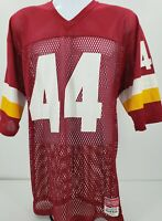 Medalist Sand-Knit NFL Practice Jersey Red White and Yellow Number 44 Size Large