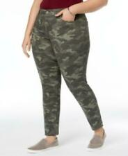 MSRP $59 Style & Co Plus Size Camo-Print Skinny-Fit Jeans Size 16W