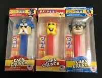 Funko Pop! + PEZ Cap'n Crunch Series A Set of all Three