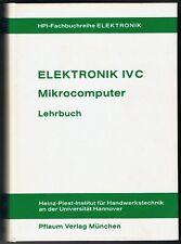 Elektronik-Fachbuch, Mikrocomputer Lehrbuch