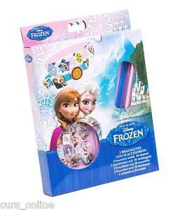 Frozen Disney Set Bracciali Componibili con Accessori Originale per Bambine