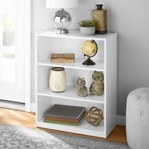 """31"""" 3 Shelf Bookcase - White"""