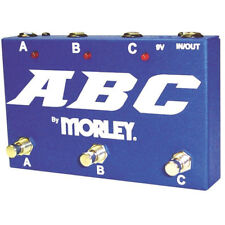 Morley ABC 3-Channel Selector/Combiner Pedal Switch + Picks