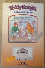 Teddy Ruxpin Lost In Boggley Woods Book and Cassette Nib