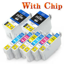 8x Ink Cartridges for Epson 252XL 252 252XLCMY WF 3620 3640 7610 7620 non-oem