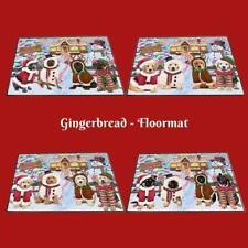 Christmas Gingerbread Cookie Dog Cat Pet Photo Floormat Doormat Welcome Mat