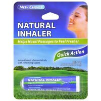 2PK Choice Quick Action Nasal Decongestant Natural Inhaler with Essential Oils