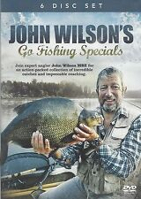 JOHN WILSON GO FISHING SPECIALS 6 DVD Box Set COMPLETE ANGLING COLLECTION
