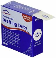1000 pc Alvin PROFESSIONAL Drafting DOTS DM123 Made in USA