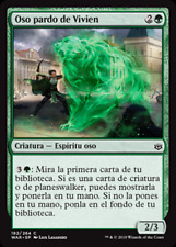 Oso pardo de Vivien - NO FOIL - War of the Spark - NUEVO/MINT - MTG - 182 - X4