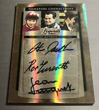 2008 Sports Legends Ron Turcotte, Steve Cauthen, Jean Cruguet Triple Crown Auto