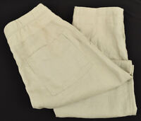 JAMES PERSE Womens Solitaire Linen Utility Drawstring Pants SIZE 1 SMALL NWT