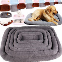 Pet Bed for Dog Cat Crate Mat Soft Warm Pad Liner Home Outdoor Indoor Pets Beds