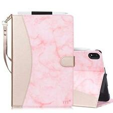 iPad Pro 11 inch Case Folio Smart Cover Auto Sleep/Wake Slim Marble Pattern Pink