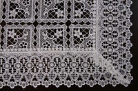 Embroidery Lace Placemat Table Mat Runner Solid White Beige Wedding Bridal Party