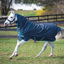 Horseware Amigo Pony Plus Turnout 50g - Black Check - Regendecke