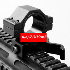 30mm&25.4mm Scope Ring QD Mount Adapter Low Profile for 20mm Picatinny Rail