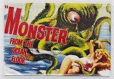 Monster From The Ocean Floor Movie Poster FRIDGE MAGNET Monster Film Horror Sci