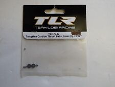 TLR - TUNGSTEN CARBIDE THRUST BALLS, 2mm (6) : 22/22T - Model # TLR2947
