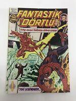 FANTASTIC FOUR #6 - Turkish Comic Book - 1980s - MARVEL - Very Rare
