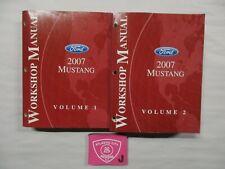 2007 FORD MUSTANG SERVICE SHOP REPAIR MANUAL SET
