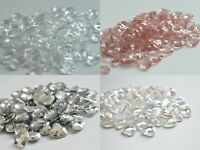 Heart Scatter Crystals Table Decoration princess Wedding Confetti 12mm
