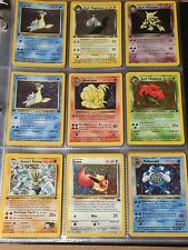 1st edition / Shadowless Pokemon Card Booster Pack Re-Pack [WOTC] Rare Lot Ex/NM