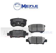 Disc Brake Pad Set-Meyle Semi Metallic Rear WD Express 520 10370 503