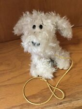 "Vintage Russ Dog plush Curly Jr NWTS 5"" Version Puppy"