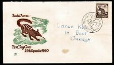 1960 Zoological 6d Ant-Eater Pre-Decimal Stamp Wesley First Day Cover #60.10