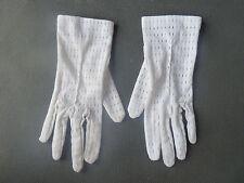 Ancienne paire de gant blanc de cérémonie 1900 pour enfant Old french glove