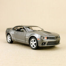 2014 Chevrolet Camaro Grey 1:38 Scale Die-Cast Model Car Pull-Back Detailed