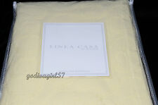 Sferra Linea Casa QUEEN BEDSPREAD Pale Yellow Matelasse, Cotton, UNUSED/OPEN PKG