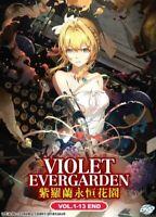 VIOLET EVERGARDEN (ENG AUDIO) - COMPLETE ANIME TV SERIES DVD BOX SET (1-13 EPIS)