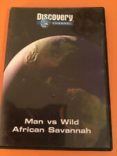 Discovery Channel Man Vs Wild African Savannah DVD