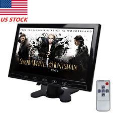 "10"" TFT LED Touch Button Monitor Screen PC CCTV VGA HDMI Speaker Remote US STOCK"