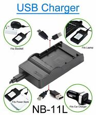 USB Battery Charger for Canon IXUS 125HS 127HS 240HS 245HS 265HS Digital Camera