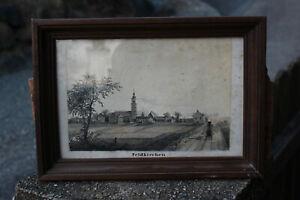 Lithographie, Eisenbahn, Feldkirchen bei Graz, 19. Jh.