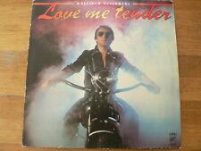 LP RECORD VINYL MOTORCYCLE COVER LOVE ME TENDER WOJCIECH GASSOWSKI
